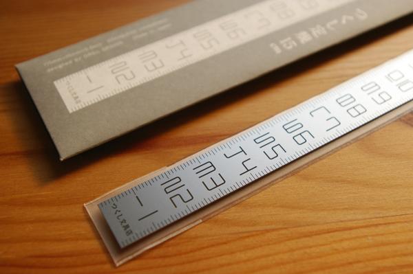 つくし文具店の「つくし定規 15cm」