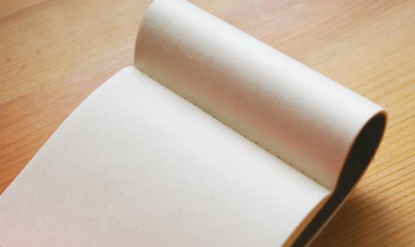 活版印刷・手漉き和紙【スーベニアプロジェクト】Made in 高知:「[北岡さんの]染め紙の小さな帳面」