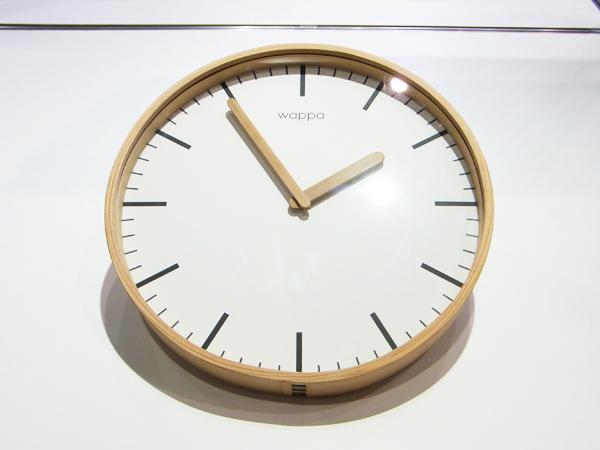 大館曲げわっぱの時計「wappa」【スーベニアプロジェクト】「グッドデザインエキスポ 2011」のレポート