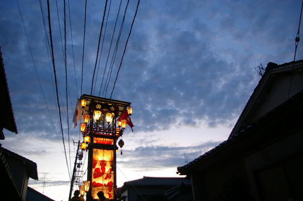キリコ祭り【スーベニアプロジェクト】タビモノ 2011:七尾 – 珠洲 – 輪島 vol.4 「七尾祇園祭」