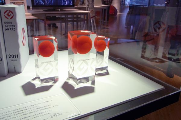グッドデザイン大賞2011【スーベニアプロジェクト】「GOOD DESIGN EXHIBITION 2011 -適正-」にいってきました。