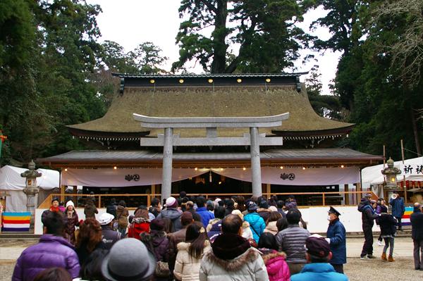 拝殿(はいでん)【スーベニアプロジェクト】鹿島神宮