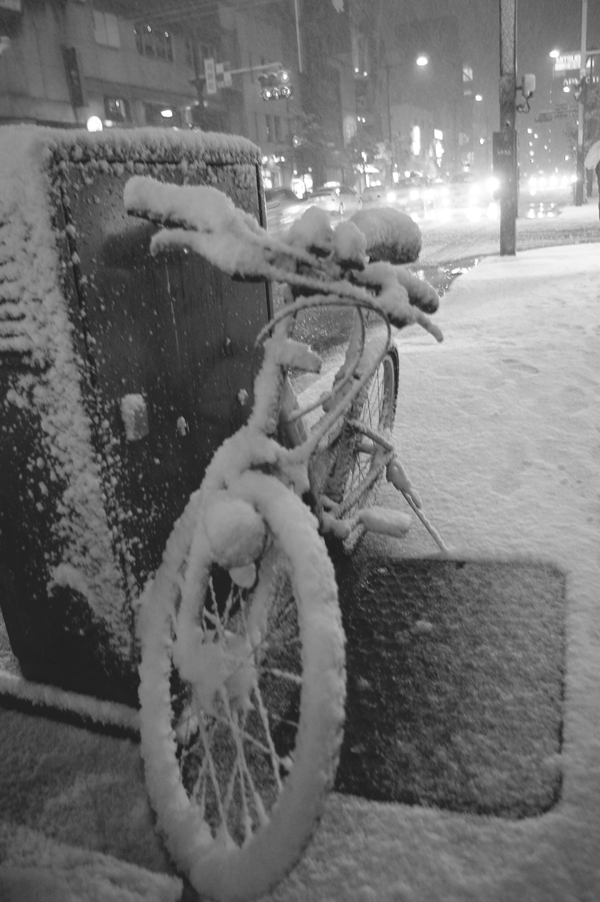 雪夜の金澤