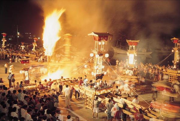 能登のキリコ祭り【スーベニアプロジェクト】北陸留学:「あばれ祭」